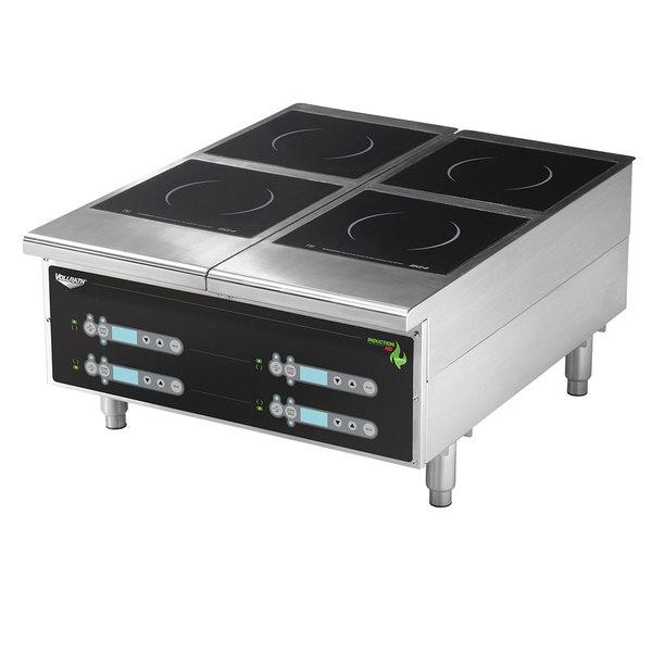 Vollrath 924HIDC Cayenne Heavy Duty Dual Induction Hot Plate With Digital  Controls   208/240V, 5800W