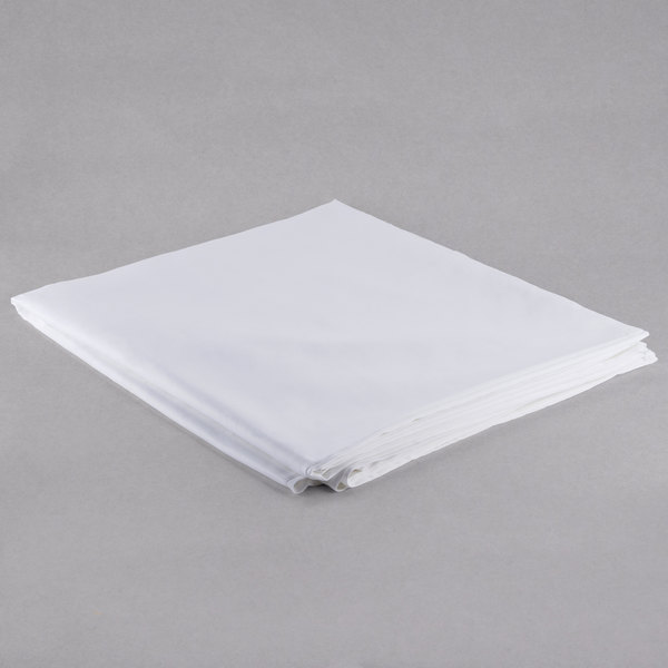 "Hotel Duvet Cover - 250 Thread Count Cotton / Poly - White Full 86"" x 93"""