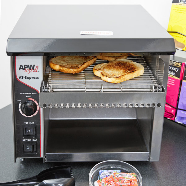 """APW Wyott AT Express Conveyor Toaster with 1 1/2"""" Opening (ATEXPRESS) - 230V"""