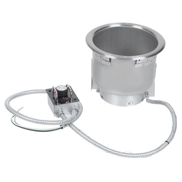 Hatco HWB-7QT 7 Qt. Single Drop In Round Heated Soup Well - 208V