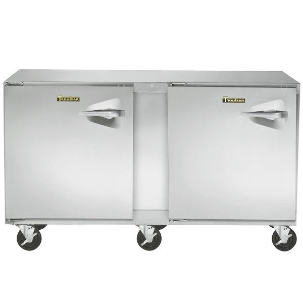 "Traulsen UHT60-LL 60"" Undercounter Refrigerator with Left Hinged Doors - 16.7 Cu. Ft."
