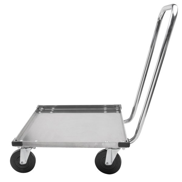 Metro DH2020N Heavy Duty Aluminum Dish Rack Dolly with Handle Main Image 1