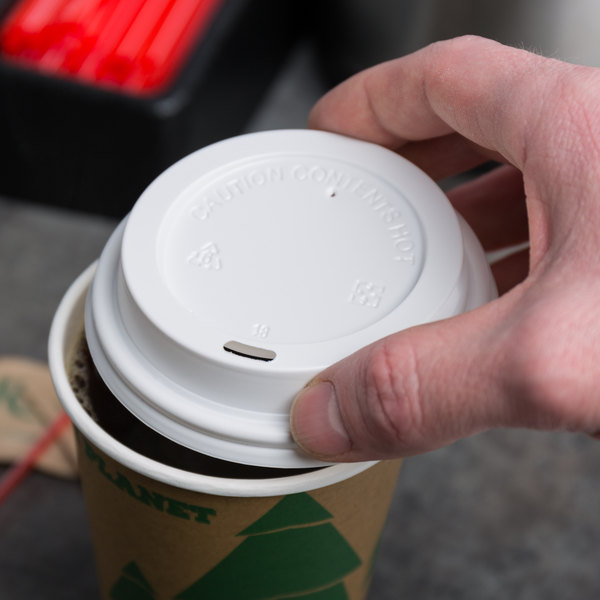 Choice 10 12 16 And 20 Oz White Hot Paper Cup Travel