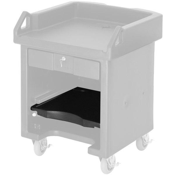 Cambro C10009110 Black Versa Cart Shelf