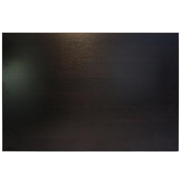 """BFM Seating ES2430 Midtown 24"""" x 30"""" Rectangular Indoor Tabletop - Espresso"""