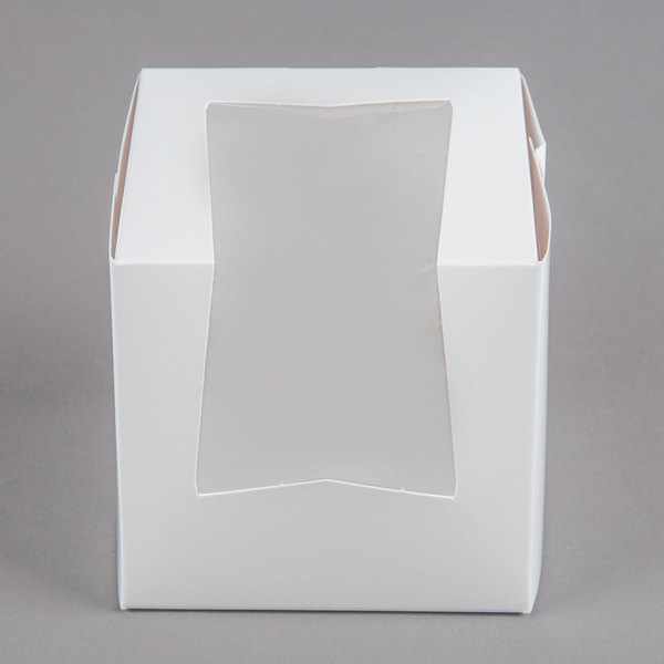 Pro-Quality Bakery Boxes for 4 Cupcakes with Display Window /& Cupcake Inserts...
