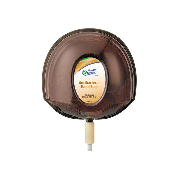 Kutol 5067 Health Guard Antibacterial Hand Soap 2000 mL Cartridge for Kutol DuraView Dispenser - 4/Case Main Image 1