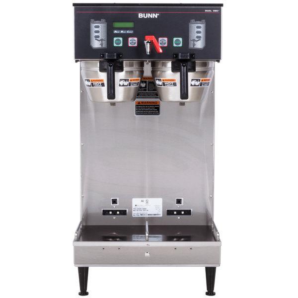 Bunn 33500.0000 BrewWISE Dual Soft Heat DBC Brewer - 120/240V, 6800W Main Image 1