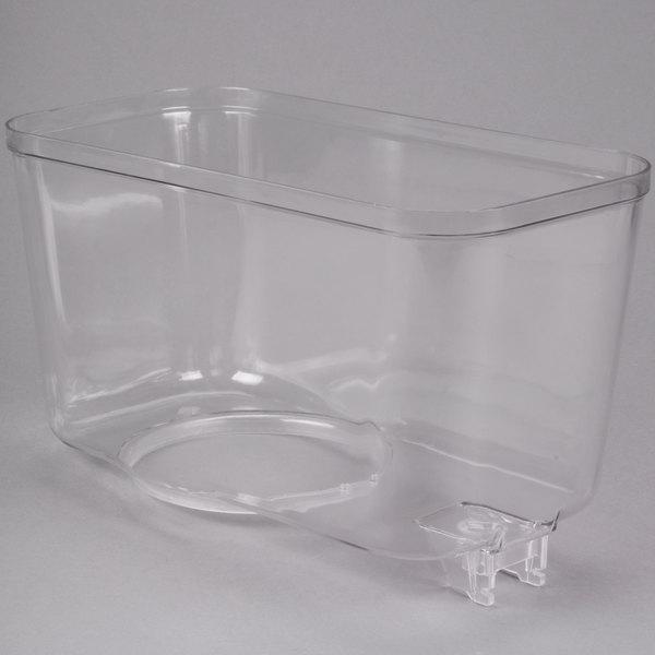 Crathco 1090 3 Gallon Refrigerated Beverage Dispenser Bowl