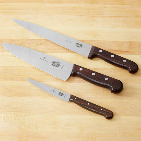 47057 Rosewood 3 Piece Chef Knife Set