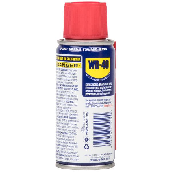 WD-40 490002 3 oz  Handy Can Spray Lubricant - 12/Case