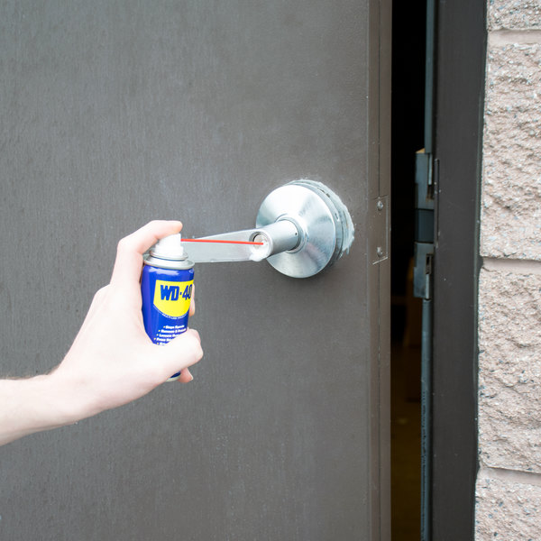 WD-40 490002 3 oz. Handy Can Spray Lubricant - 12/Case Main Image 4