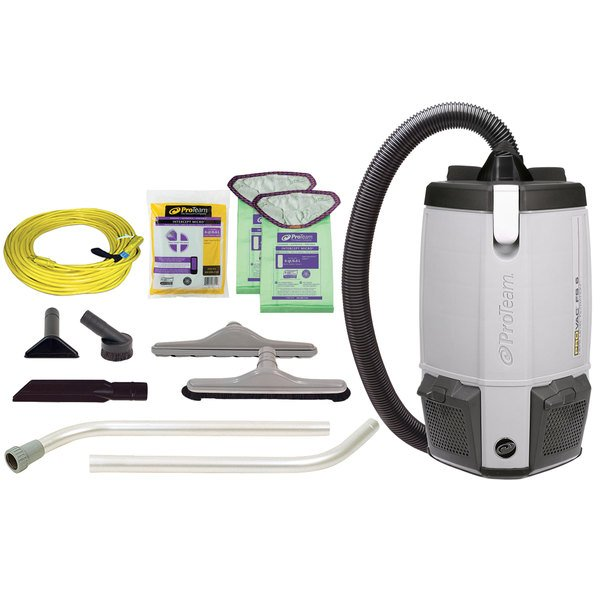 Proteam 107363 6 Qt Provac Fs 6 Backpack Vacuum Cleaner With Restaurant Kit