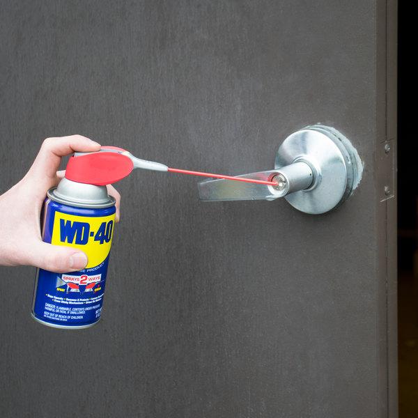 WD-40 490026 8 oz. Spray Lubricant with Smart Straw - 12/Case