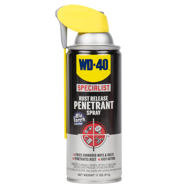 WD-40 300004 Specialist 11 oz  Rust Release Penetrant Spray with Smart Straw