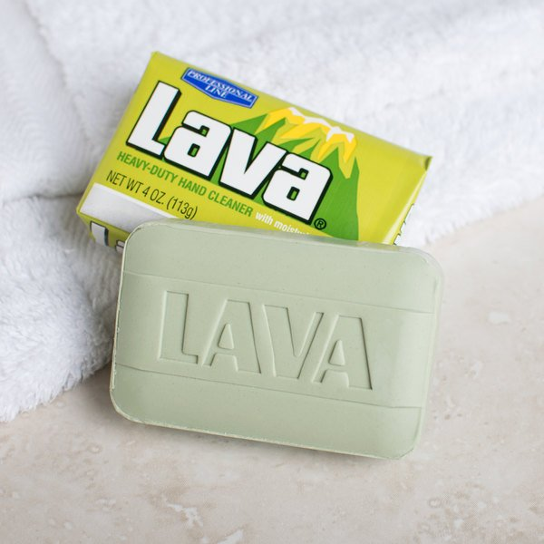 Lava Bar 10383 4 oz. Pumice-Powered Hand Soap with Moisturizers - 48/Case Main Image 4