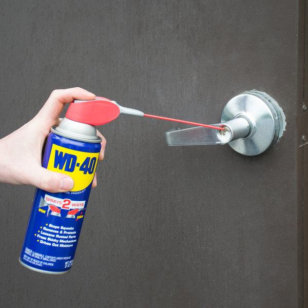 WD-40 490057 12 oz. Spray Lubricant with Smart Straw