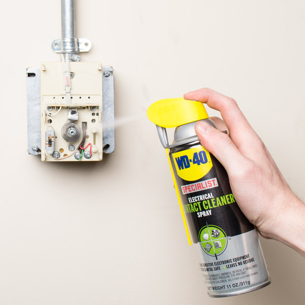 WD-40 300080 Specialist 11 oz. Electrical Contact Cleaner Spray