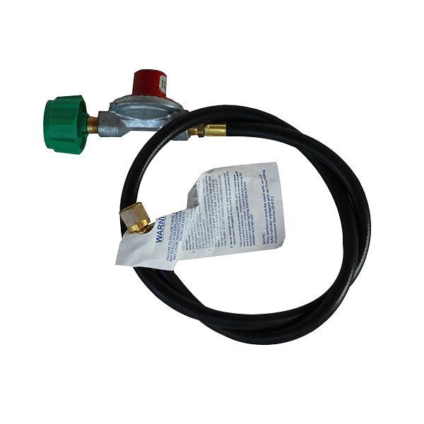 """R & V Works 36"""" 10 PSI LP Gas Connector Hose and Regulator Main Image 1"""