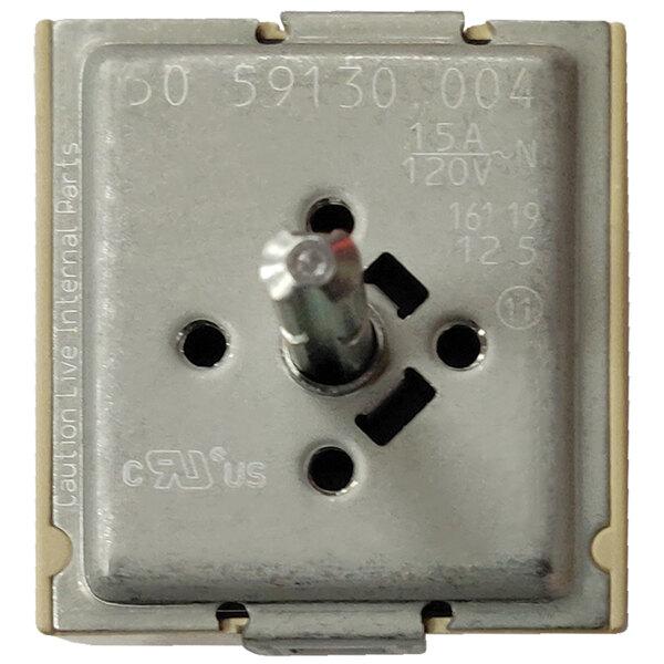 APW Wyott 1326810 Equivalent EGO Infinite Heat Switch - 120V, 15A Main Image 1
