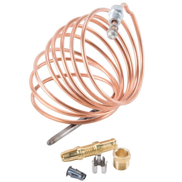 """Bakers Pride M1296A Equivalent 72"""" Snap Fit Thermocouple Main Image 1"""