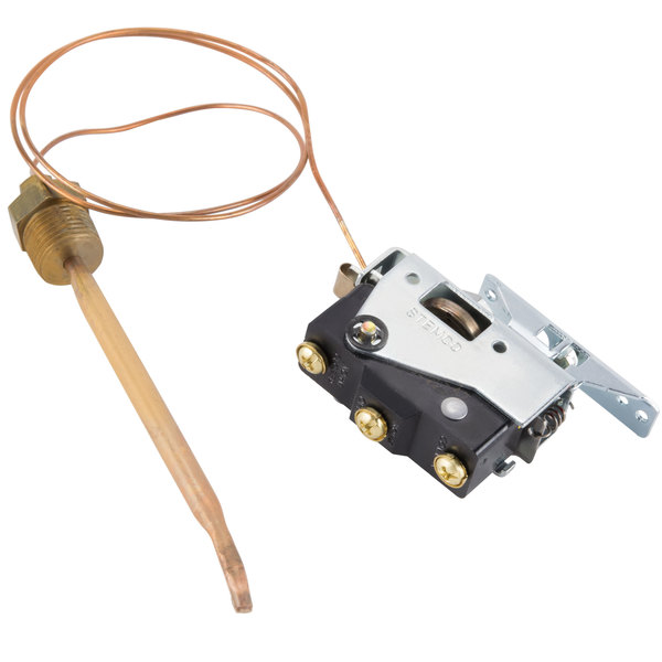 """All Points 46-1081 Booster Heater Thermostat; Type 358E; Temperature 110 - 192 Degrees Fahrenheit; 24"""" Capillary Main Image 1"""
