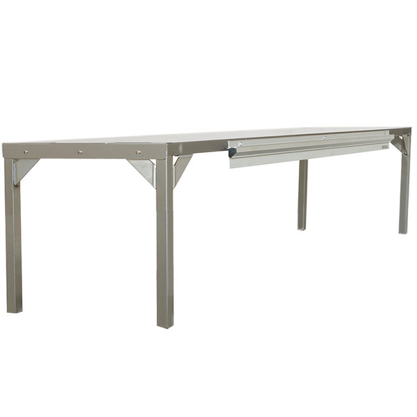 """Delfield AS000-AQS-003Z Stainless Steel Single Overshelf - 60"""" x 16"""" Main Image 1"""
