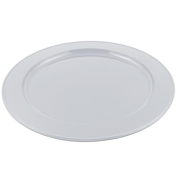 Bon Chef 2048 16 inch Pewter-Glo Cast Aluminum Round Platter