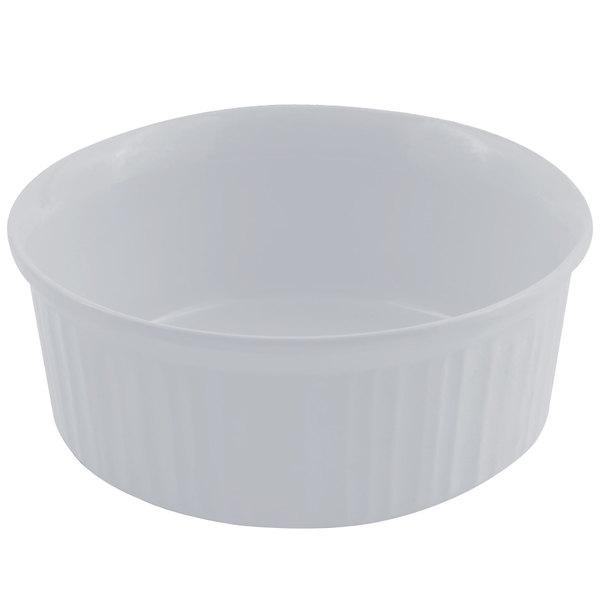 Bon Chef 5053 1.5 Qt. Pewter-Glo Cast Aluminum Casserole Dish