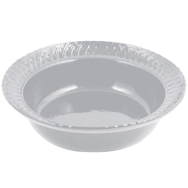 Bon Chef 2307 2.5 Qt. Pewter-Glo Cast Aluminum Trellis Bowl
