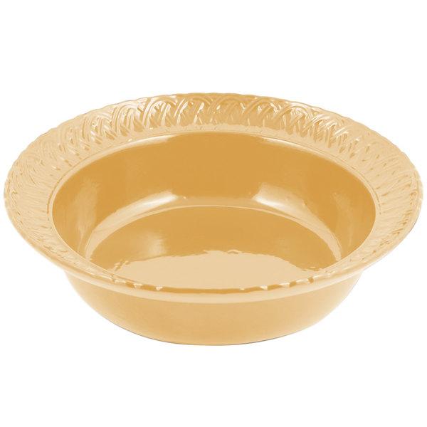 Bon Chef 2307 2.5 Qt. Ginger Sandstone Finish Cast Aluminum Trellis Bowl