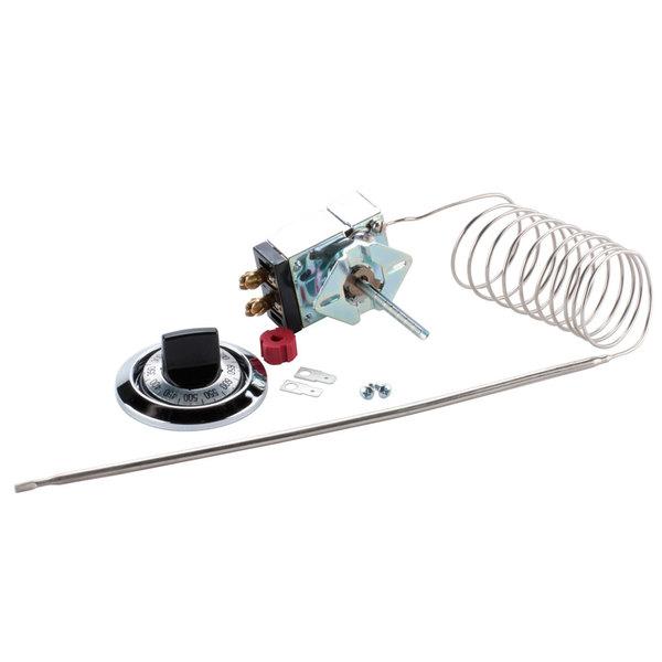 "Nemco 45772 Type SP Thermostat with Knob; 60"" Capillary"