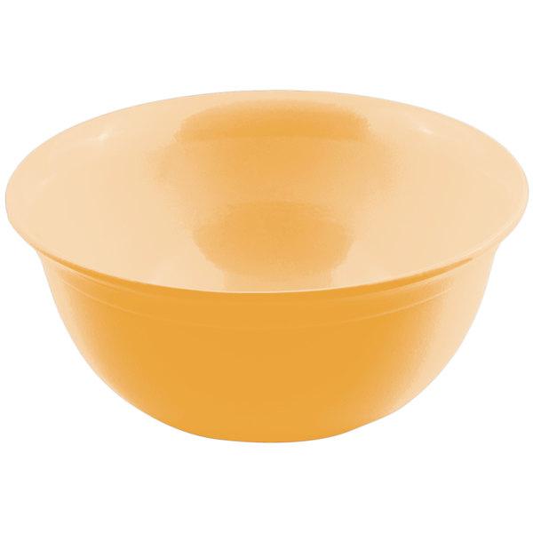 Bon Chef 9069 6 Qt. Sandstone Ginger Cast Aluminum Round Bowl