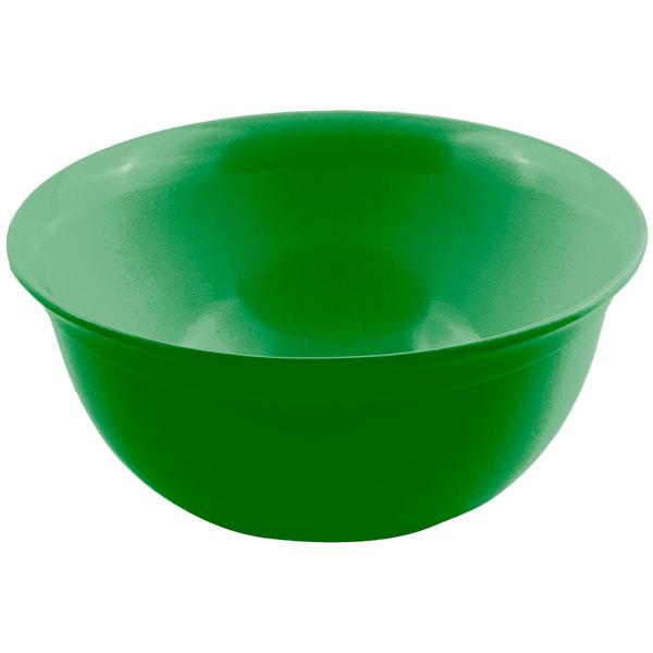 Bon Chef 9069 6 Qt. Calypso Green Sandstone Finish Cast Aluminum Round Bowl Main Image 1