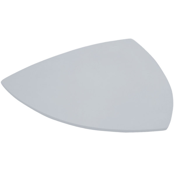 """Bon Chef 9162 24"""" Pewter-Glo Cast Aluminum Triangle Serving Plate Main Image 1"""