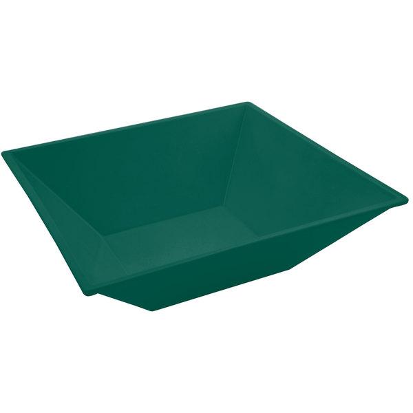 Bon Chef 9510 5 Qt. Sandstone Hunter Green Cast Aluminum Flared Bowl