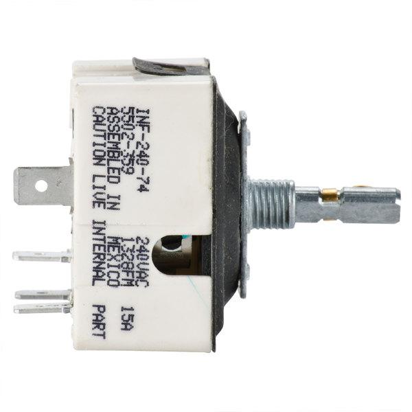 Nemco 47218 Thermostat for Hot Dog Grills - 220V Main Image 1
