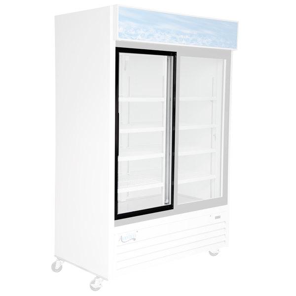 """Avantco 17817563 Left Hand Sliding Glass Door - 24 1/4"""" x 1"""" x 50 3/4"""""""