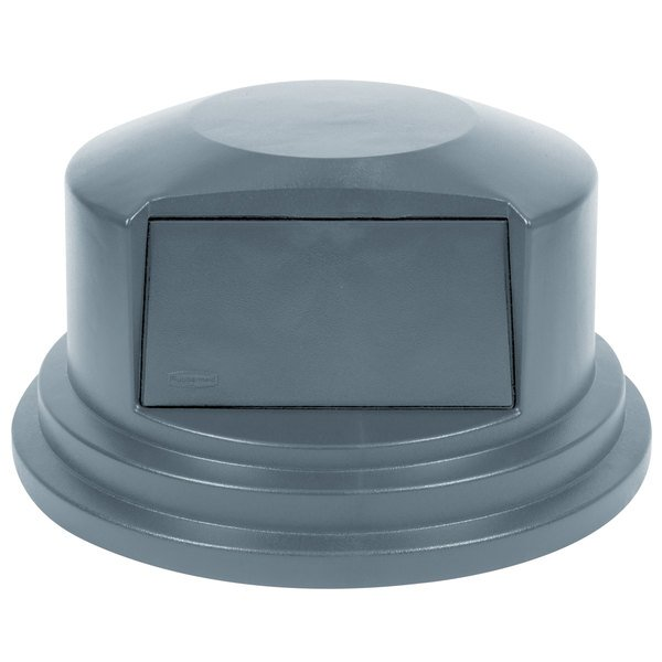 Rubbermaid FG265788GRAY BRUTE Gray Dome Top for FG265500 Containers 55 Gallon