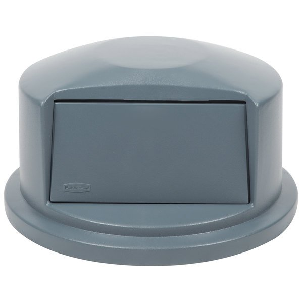 Rubbermaid FG263788GRAY BRUTE Gray Dome Top for FG263200 Containers ...