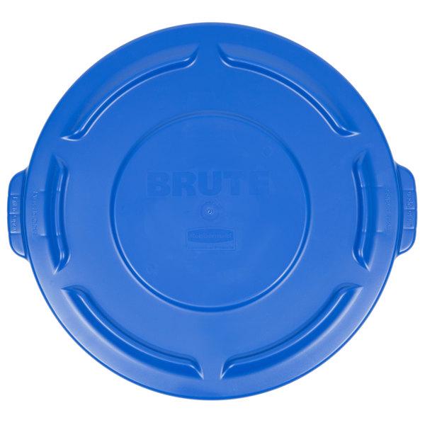 Rubbermaid 1779731 BRUTE Blue 20 Gallon Trash Can Lid