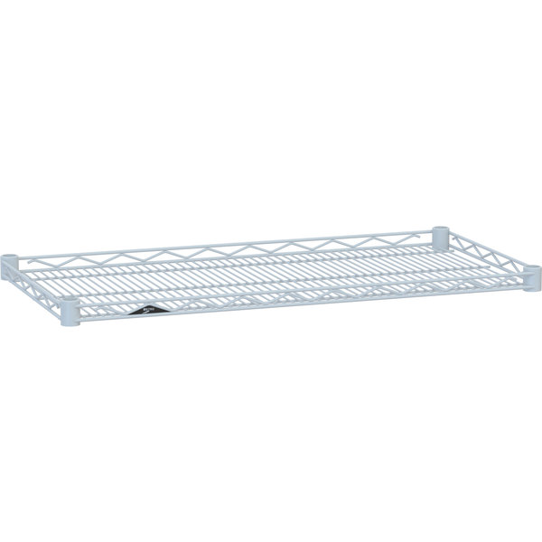 "Metro HDM2436W Super Erecta White Drop Mat Wire Shelf - 24"" x 36"""
