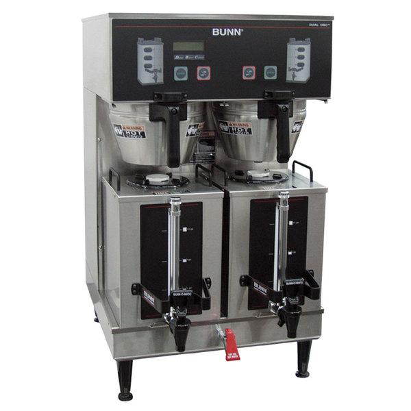 Bunn 35900.0010 BrewWISE GPR DBC 18.9 Gallon Dual Coffee Brewer - 120/208-240V, 16800W
