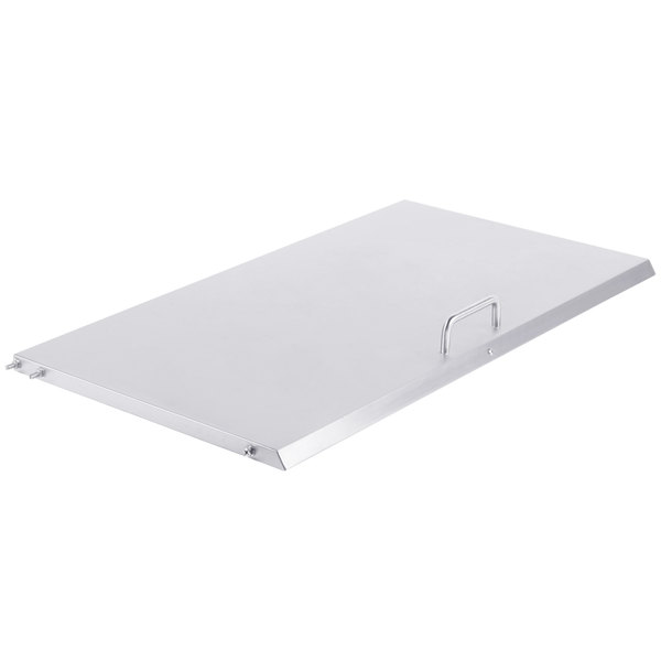 "Avantco 17815165 Small Pan Rail Lid - 29"" x 15 3/4"""