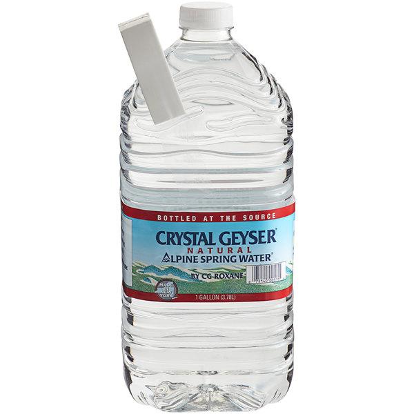 Crystal Geyser 1 Gallon Natural Spring Water - 6/Case Main Image 1