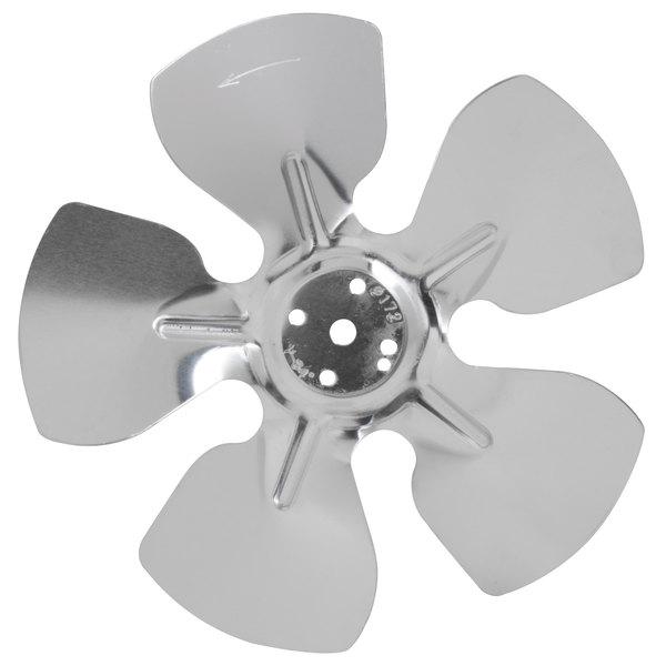 """Avantco 17814269 6 3/4"""" Condenser Fan Blade Main Image 1"""