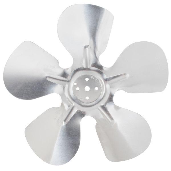 """Avantco 17811089 9 1/16"""" Condenser Fan Blade Main Image 1"""