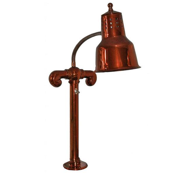 Hanson Heat Lamps SL/FM/SC Smoked Copper Single Bulb Flex Mounted Food Warmer Main Image 1