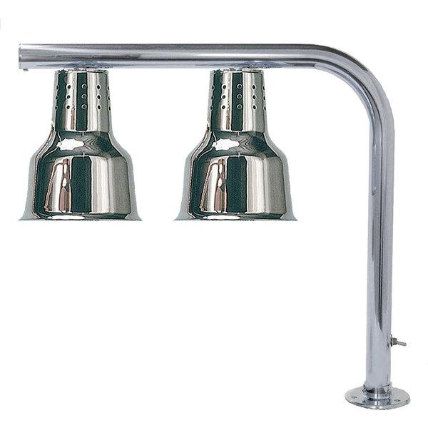 Hanson Heat Lamps FLD/FM/CH Dual Bulb Heat Lamp with Chrome Finish