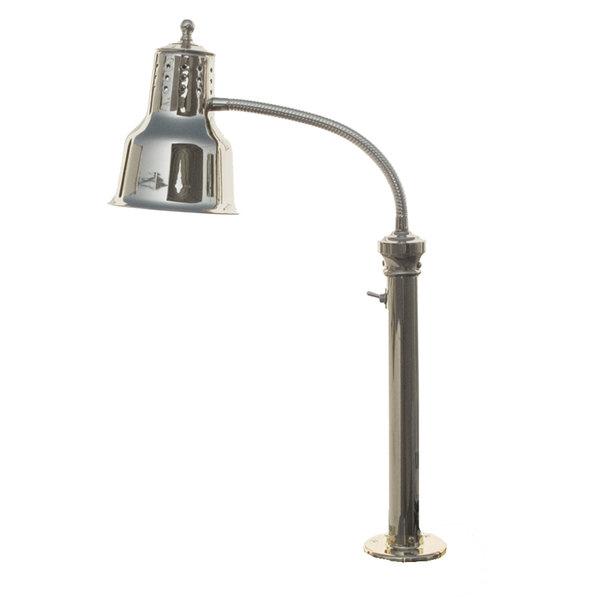 Hanson Heat Lamps ESL/FM/CH Single Bulb Flexible Heat Lamp with Chrome Finish Main Image 1